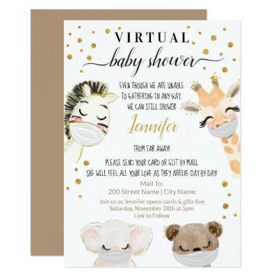 Virtual Baby Shower Invitation