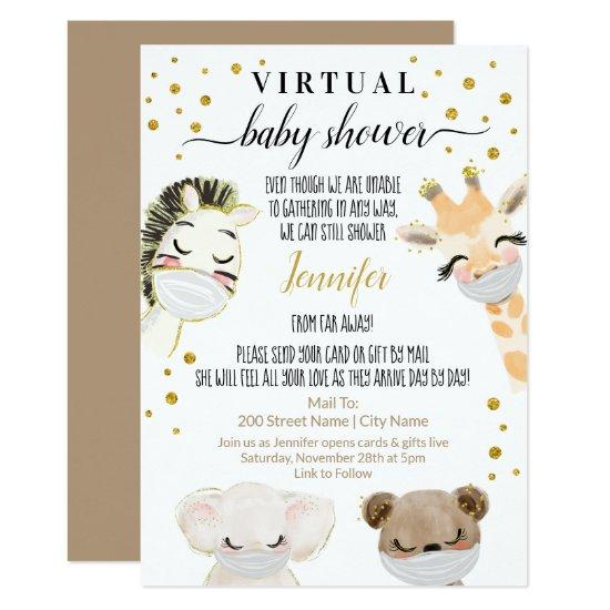 Virtual Baby Shower Invitation