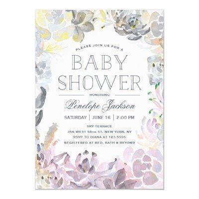Water Succulents | Invitations