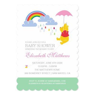 rainbow baby baby shower invitations | baby shower invitations, Baby shower invitations
