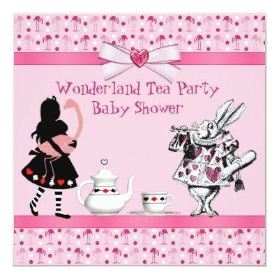 pink flamingo baby shower baby shower invitations | baby shower, Baby shower invitations