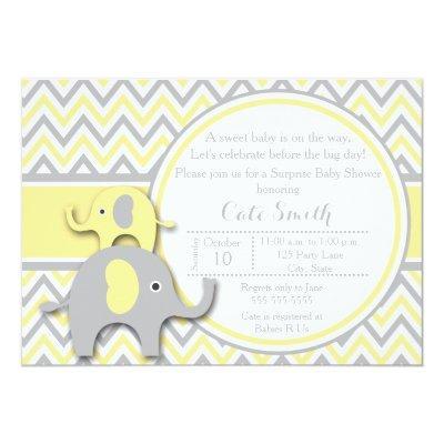 Yellow and Gray Elephant